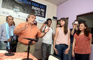 Se inauguró una radio CAJ en el secundario de AguasBlancas