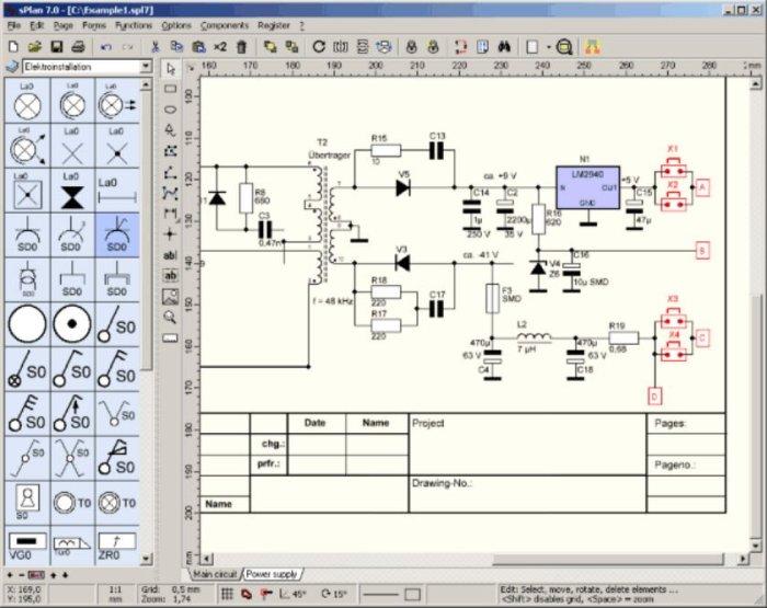 Software intuitivo y fácil de usar para diseño de diagramaselectrónicos