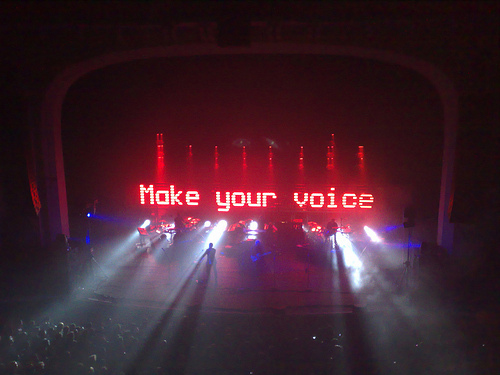 UVA, el estudio que convierte en espectáculos tecnológicos los conciertos de MassiveAttack