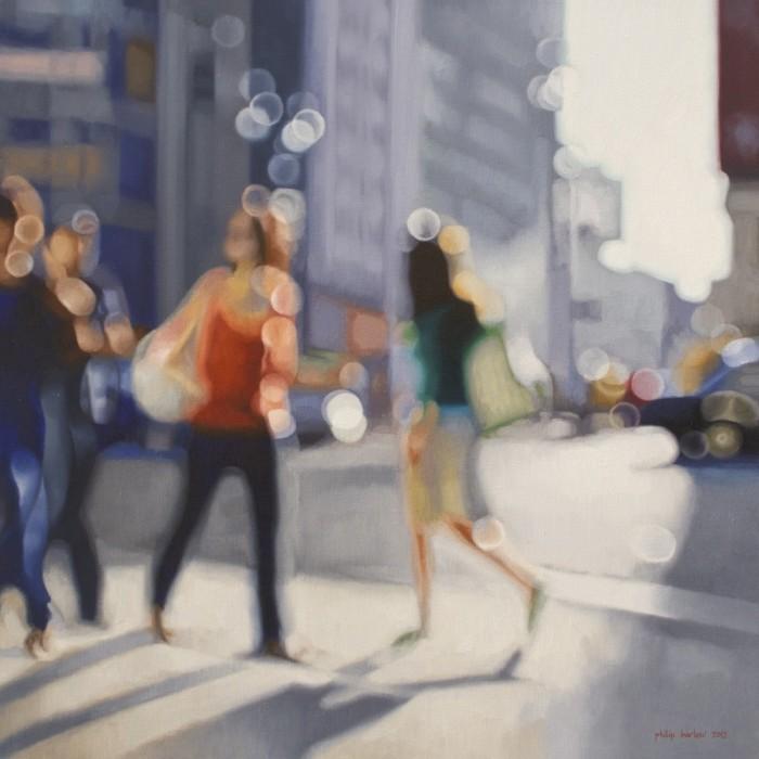 El mundo de los miopes retratado en pinturas de PhilipBarlow