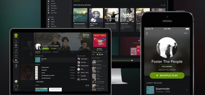 Los contenidos de algunos artistas en Spotify solo estarán disponibles para usuarios depago